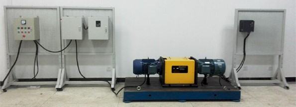 The experimental platform of induction motor starting control