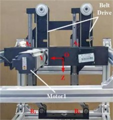 The prototype of 2T parallel mechanism