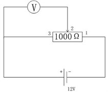 Shape and working principle of the potentiometer