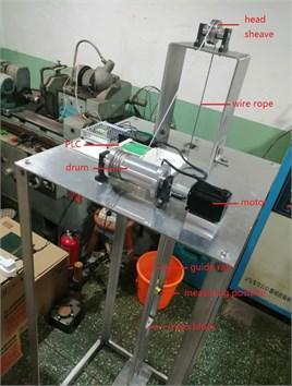 The testing hoisting system