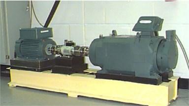 Principle of vibration signal testing of bearing