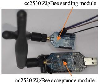 Cc2530 ZigBee wireless communication transceiver module