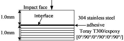 Schematic diagram of specimen structure