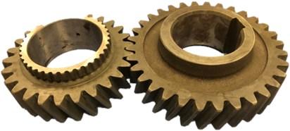 Helical gear pair