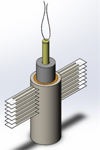 Sample assembly drawing in pressure measurement