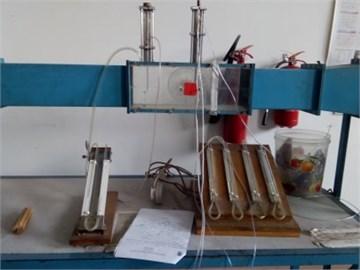Three tube probe yaw meter setup