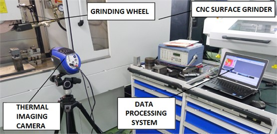 Real view of the stand while performing tests