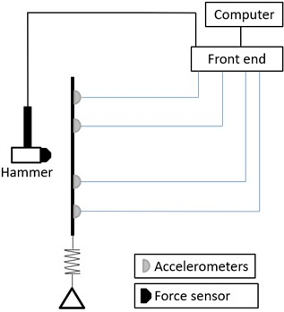 Schematic diagram of the measurement system