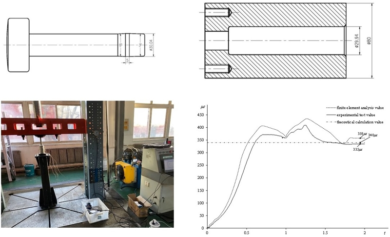 Study on swage autofrettage of steel sleeve for the high pressure plunger pump