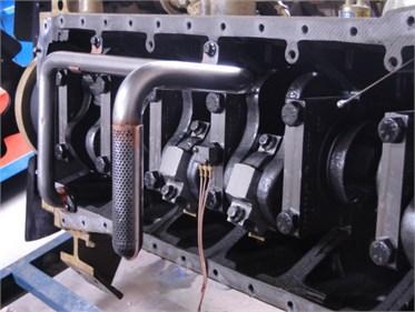 Installation position of vibration sensor