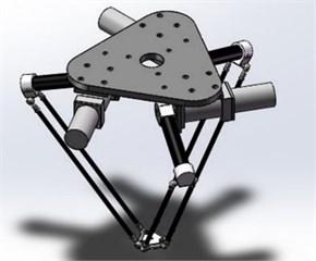 3D drawing of 3-DOF translational robot