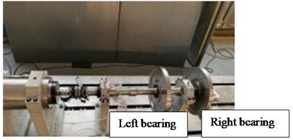 Bearing test bench