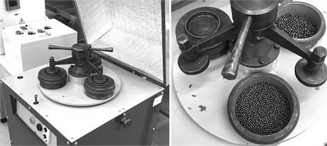 IVT-3 vibration bowl grinder