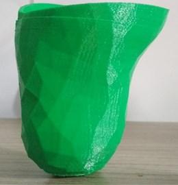 Final socket prepared by using 3D printing