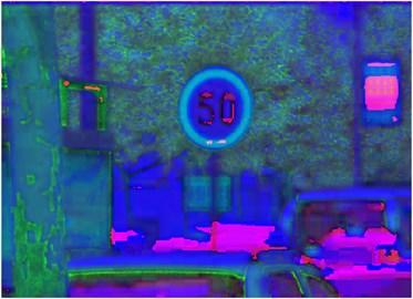 HSV color threshold segmentation
