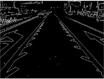Image edge detection and processing