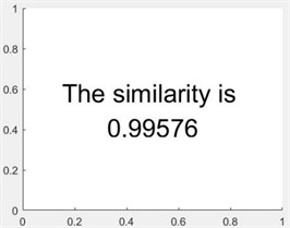 Comparison of similarity of test results