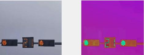 HSV color space conversion images