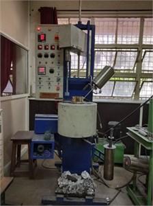 Setup of Stir casting process