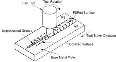 Schematic diagram of FSP technique.