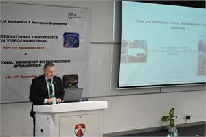 Moments of 35th International Conference on VIBROENGINEERING in Greater Noida (Delhi), India