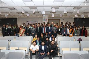 Moments of 43rd International JVE Conference in Greater Noida (Delhi), India