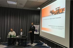 Moments of 20th International Conference on VIBROENGINEERING in Katowice, Poland