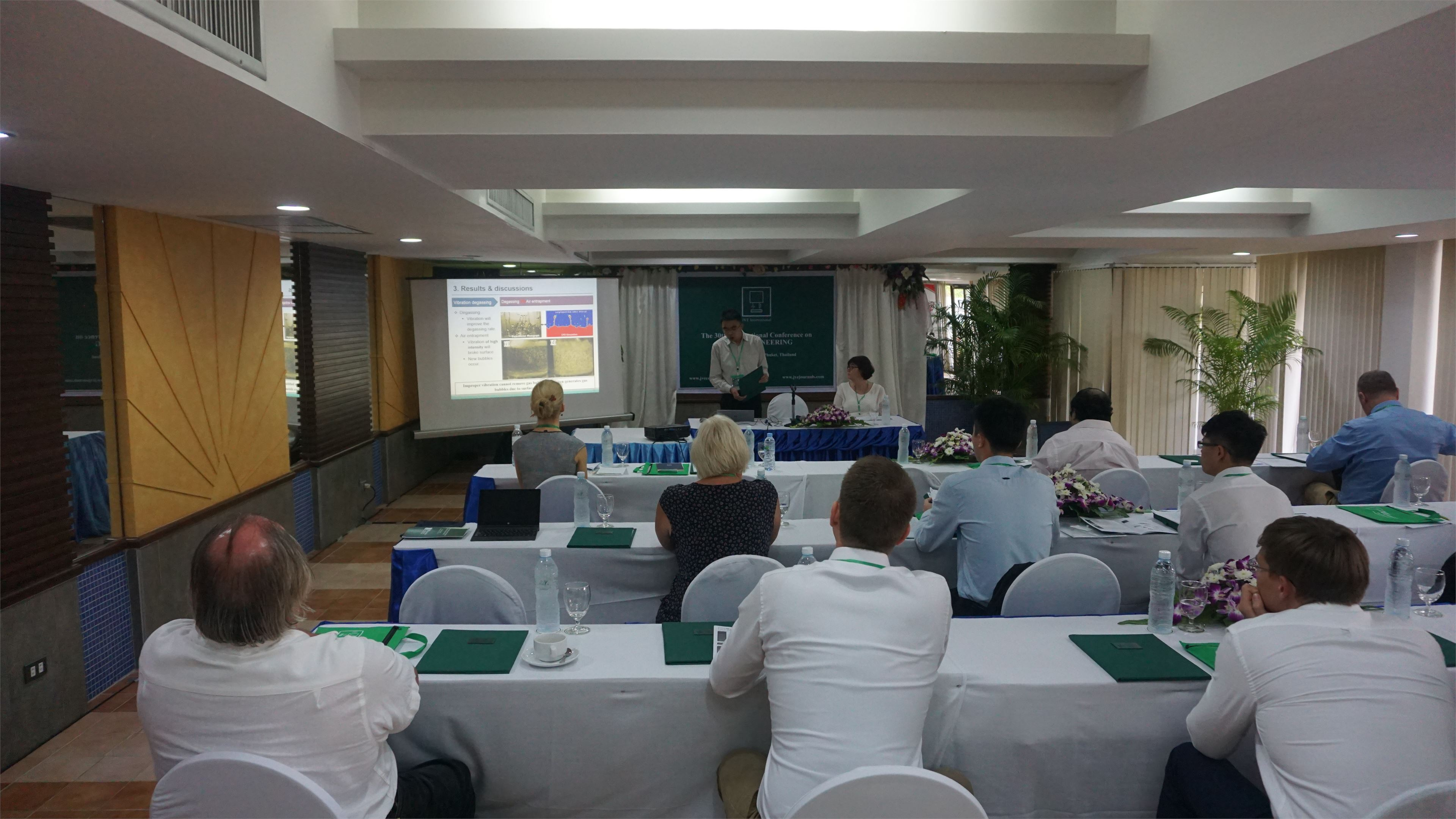 30th Conference in Phuket, Thailand | JVE Conferences