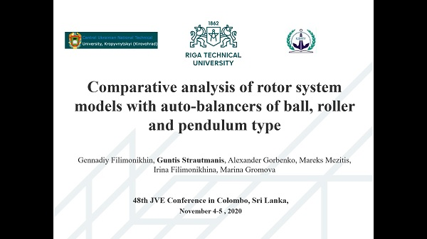 Comparative analysis of rotor system models with auto-balancers of ball, roller and pendulum type