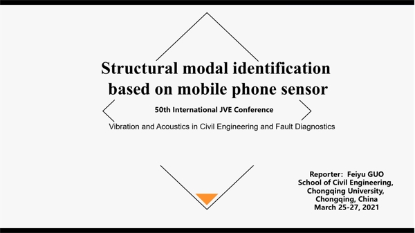 Structural modal identification based on mobile phone sensor